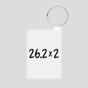 26.2 x 2 Aluminum Photo Keychain