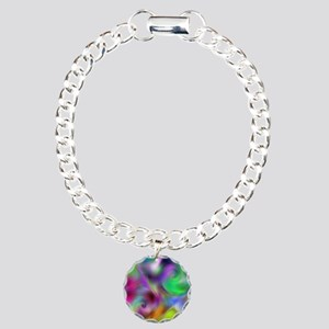 Psychedelic Collection Charm Bracelet, One Charm