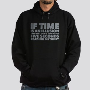 Is Time an Illusion Hoodie (dark)