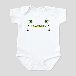 Tropical Flowergirl Infant Creeper