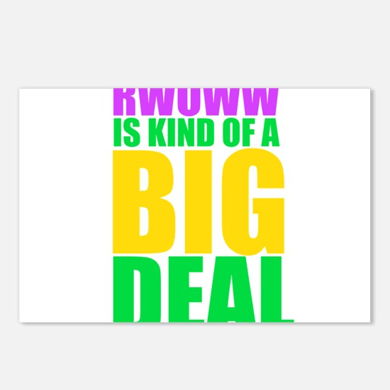 RWOWW Is Kind Of A Big Deal Postcards (Package of