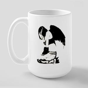 Crow Child Large Mug