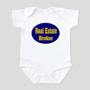 Real Estate Broker Infant Bodysuit