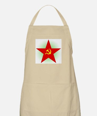 Star And Sickle BBQ Apron