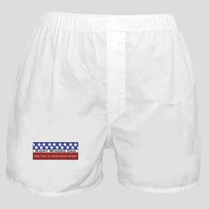 Right minded Dad Boxer Shorts