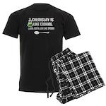 Chemistry Cooking Men's Dark Pajamas