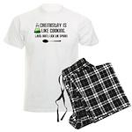 Chemistry Cooking Men's Light Pajamas