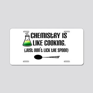 Chemistry Cooking Aluminum License Plate