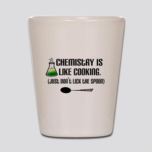 Chemistry Cooking Shot Glass