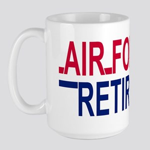 Air Force Retired <BR>15 Ounce Mug 3