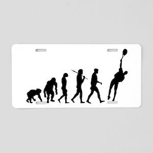 Evolution of Tennis Aluminum License Plate