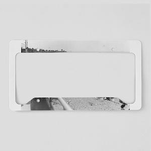Pontchartrain Beach 1940s License Plate Holder