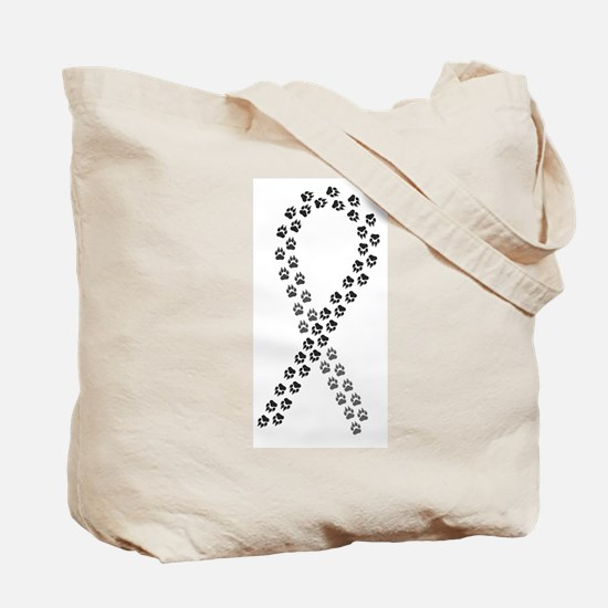 Black Paws Cure Tote Bag