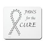 Black Paws Cure Mousepad