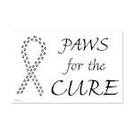 Black Paws Cure Mini Poster Print