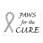 Black Paws Cure Postcards (Package of 8)