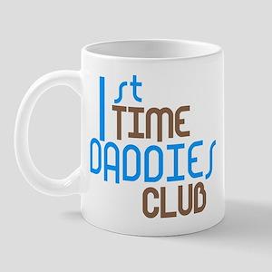 1st Time Daddies Club (Blue) Mug