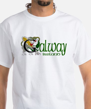 County Galway White T-Shirt