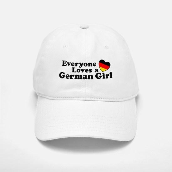 German Girl Baseball Baseball Cap