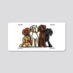 Doodle Lover Aluminum License Plate