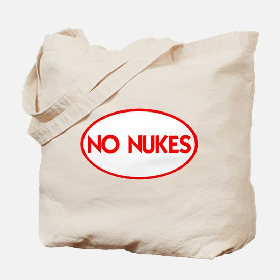 NO NUKES III-ALL PRODUCTS Tote Bag
