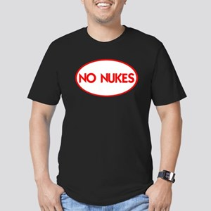 NO NUKES III-ALL PRODUCTS Men's Fitted T-Shirt (da