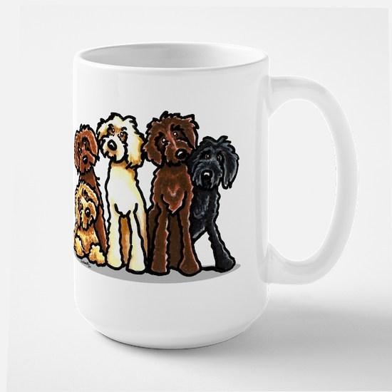 Labradoodle Lover Large Mug
