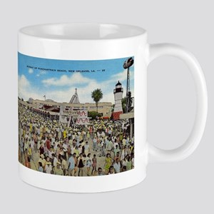 Pontchartrain Beach 1940s Mug