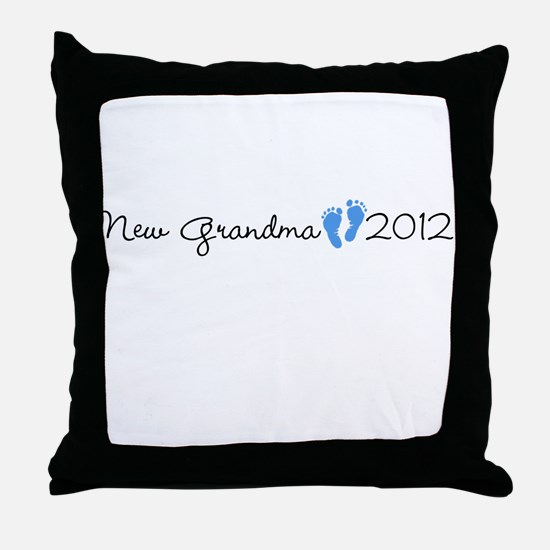 New Grandma 2012 Throw Pillow