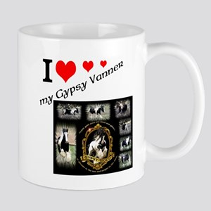 Gypsy Vanner Design Mugs