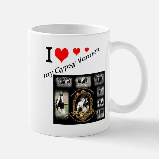 Gypsy Vanner Design Mugs