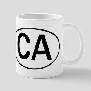 CALIFORNIA OVAL STICKERS & MO Mug