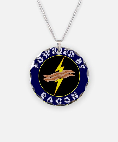 Powered By Bacon Necklace