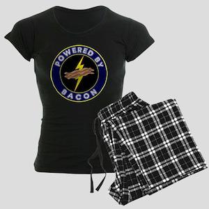 Powered By Bacon Women's Dark Pajamas