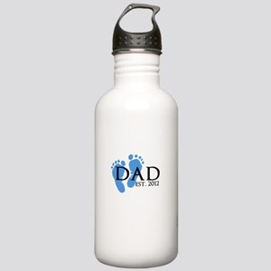 Dad Est 2012 Stainless Water Bottle 1.0L
