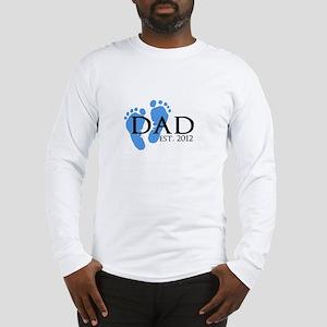 Dad Est 2012 Long Sleeve T-Shirt