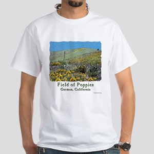 """Field of Poppies"" Calif. Poppy t-shirt"