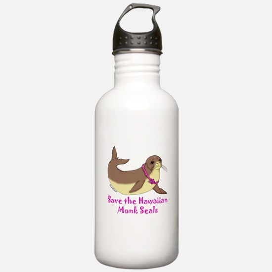 Monk Seal Water Bottle