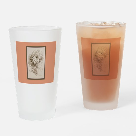 Poodle Standard Pint Glass