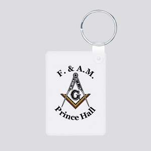 Prince Hall Square and Compass Aluminum Photo Keyc