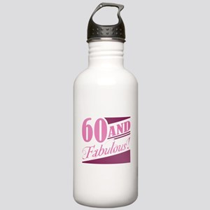 60 & Fabulous Stainless Water Bottle 1.0L