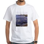 California Lighthouse t-shirt--white