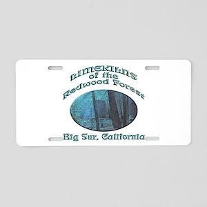 Limekilns of the Redwoods Aluminum License Plate