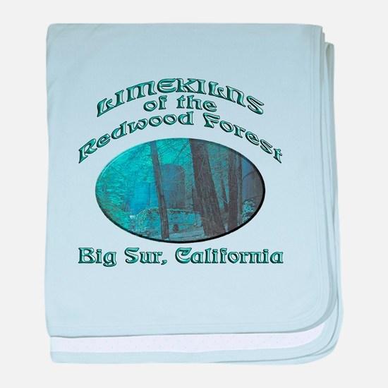 Limekilns of the Redwoods baby blanket