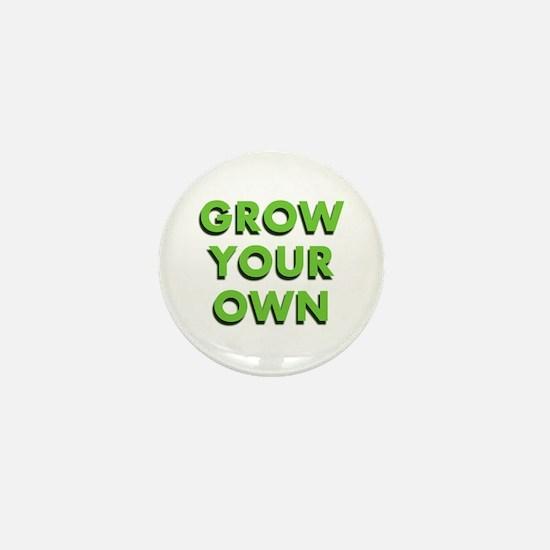 Grow Your Own Mini Button