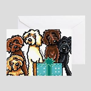 Labradoodle Birthday Greeting Card