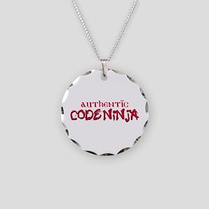 Authentic Code Ninja Necklace Circle Charm