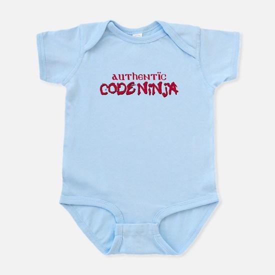Authentic Code Ninja Infant Bodysuit