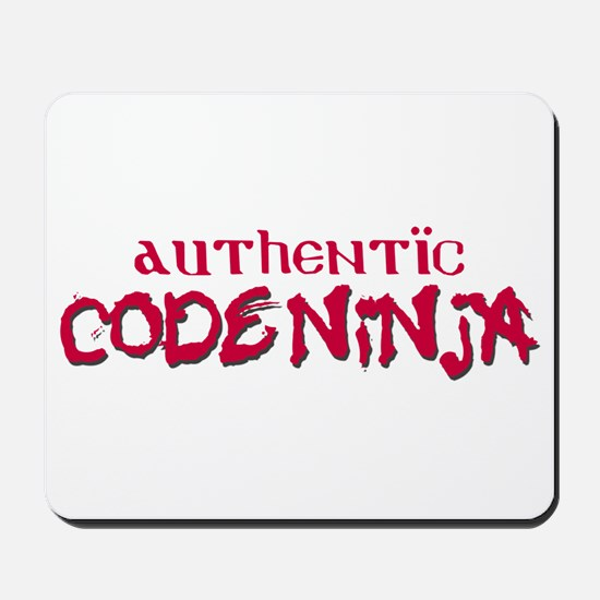 Authentic Code Ninja Mousepad