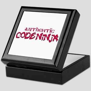 Authentic Code Ninja Keepsake Box
